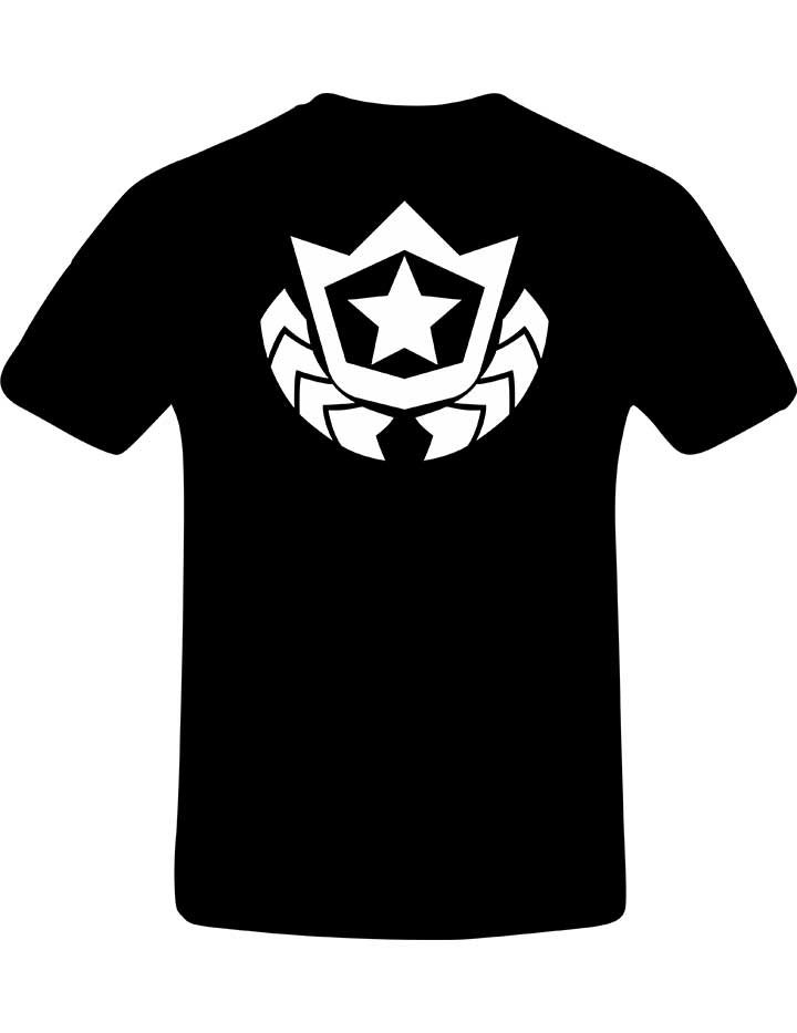 Fornite T-Shirt with battle star on the back