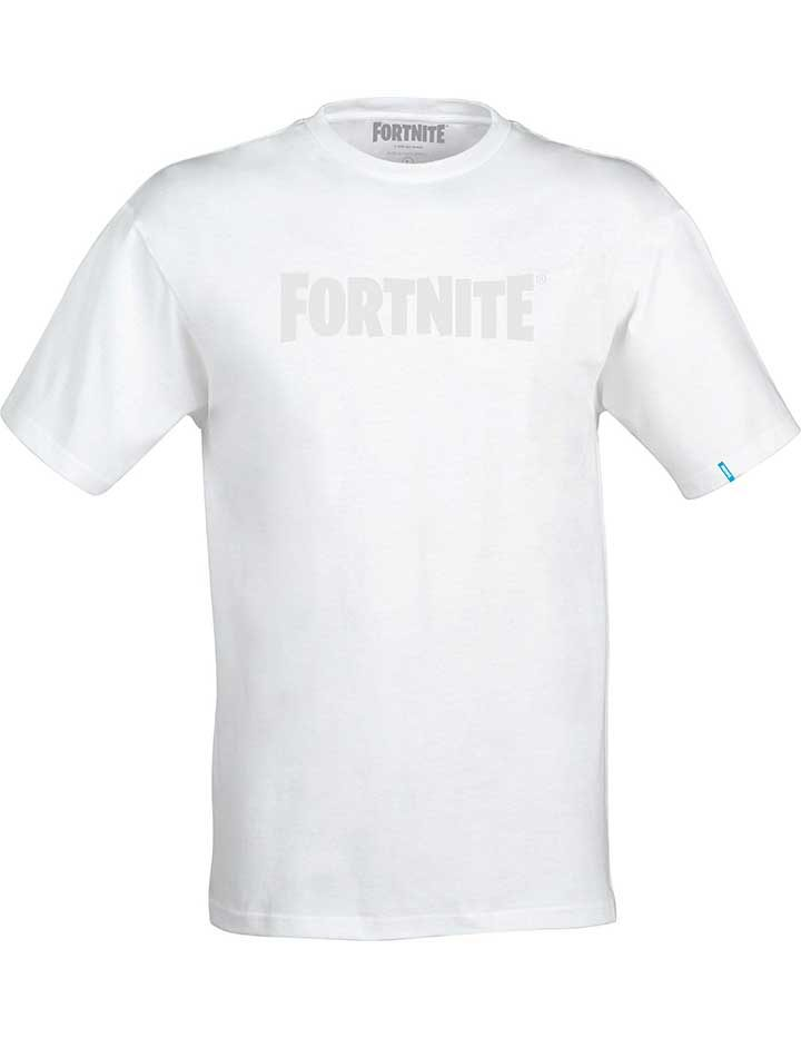 Fortnite Logo T-Shirt White South Africa