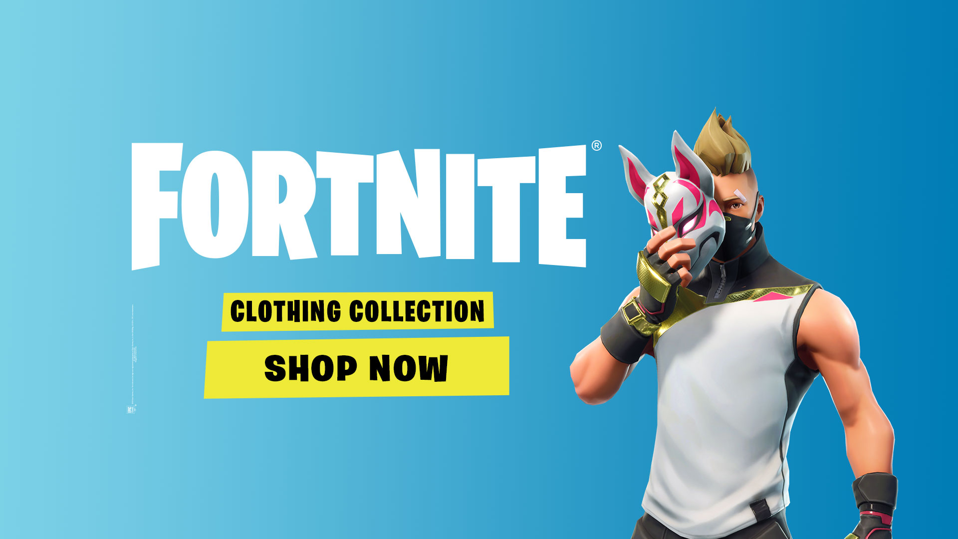 Fortnite Clothing Collection now available