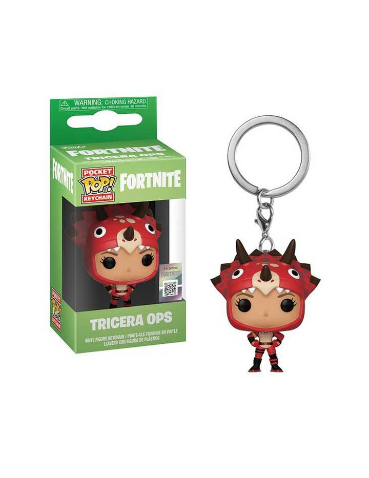 Funko Pocket Pop! Keychain - Fortnite Tricera Ops