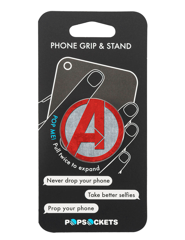 PopSocke Avengers Logo Marvel Phone Grip and Stand