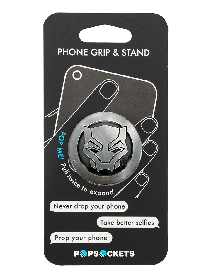 PopSocket Black Panther Logo Avengers Marvel Phone Grip and Stand