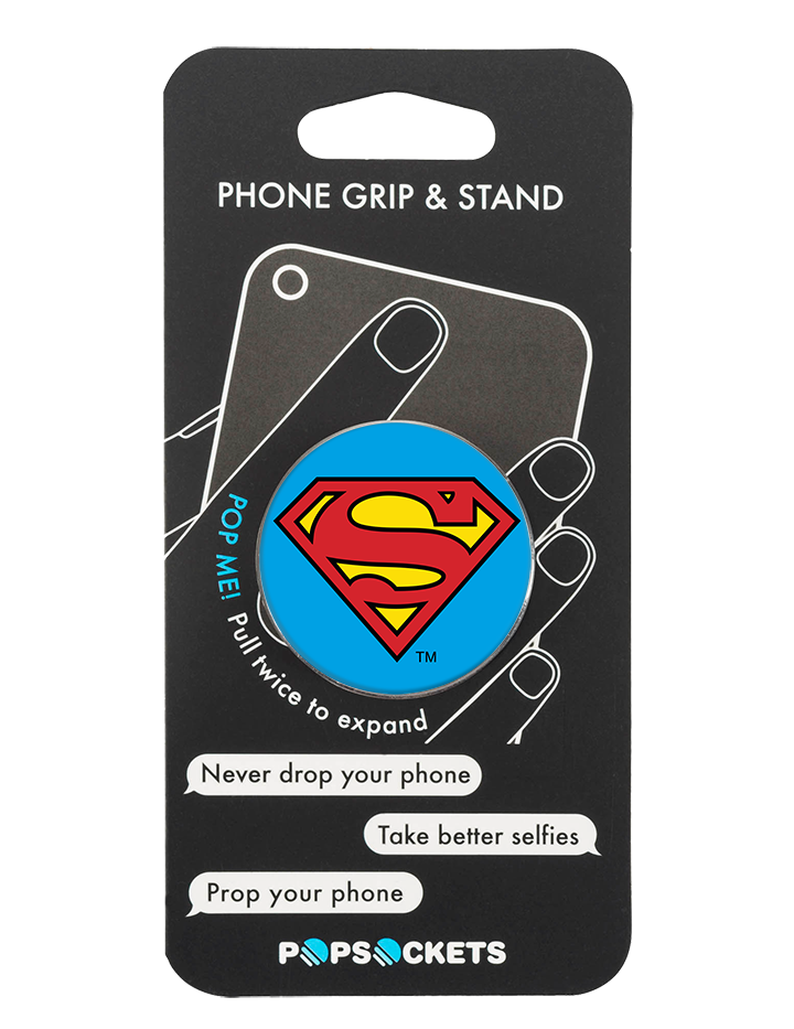 PopSocket Superman Shield DCComic Phone Grip and Stand