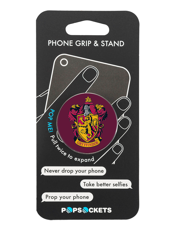 PopSocket Harry Potter Gryffindor Crest Phone Grip and Stand
